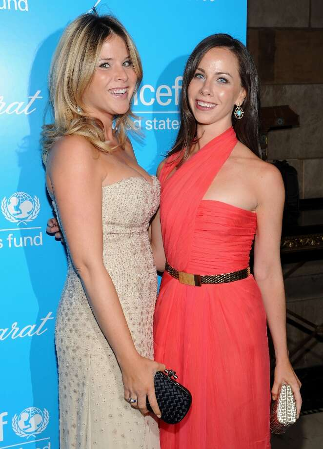 Sisters Jenna Bush Hager, left, and Barbara Bush attend the 8th Annual UNICEF Snowflake Ball at Cipriani 42nd Street on Tuesday Nov. 27, 2012 in New York. (Photo by Evan Agostini/Invision/AP) Photo: Evan Agostini, Associated Press / Invision