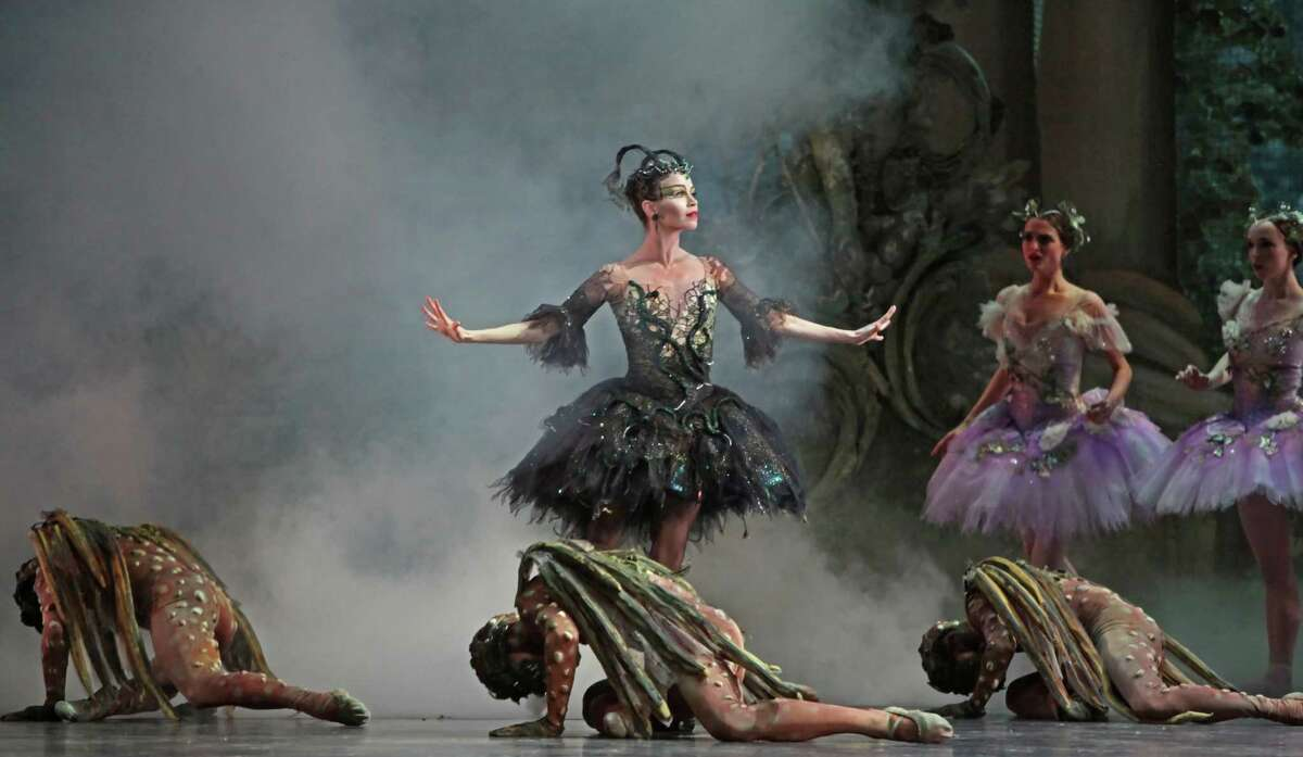 Desmond Heeley's sets and costumes for The Sleeping Beauty (performed here in 2011) helped make it one of Houston Ballet's most popular works. For more images of Heeley's work, scroll through the slide show.