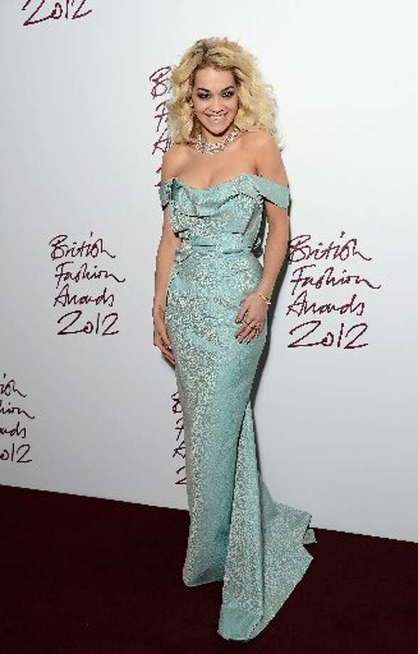 Rita Ora attends the British Fashion Awards 2012 at The Savoy Hotel on November 27, 2012 in London, England. (Photo by Ian Gavan/Getty Images) (Getty)
