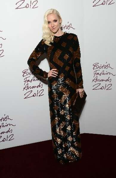 Portia Freeman attends the British Fashion Awards 2012 at The Savoy Hotel on November 27, 2012 in Lo