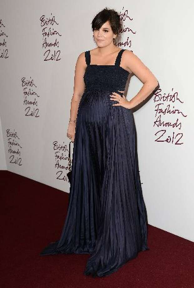 Lily Allen attends the British Fashion Awards 2012 at The Savoy Hotel on November 27, 2012 in London, England. (Photo by Ian Gavan/Getty Images) (Getty)