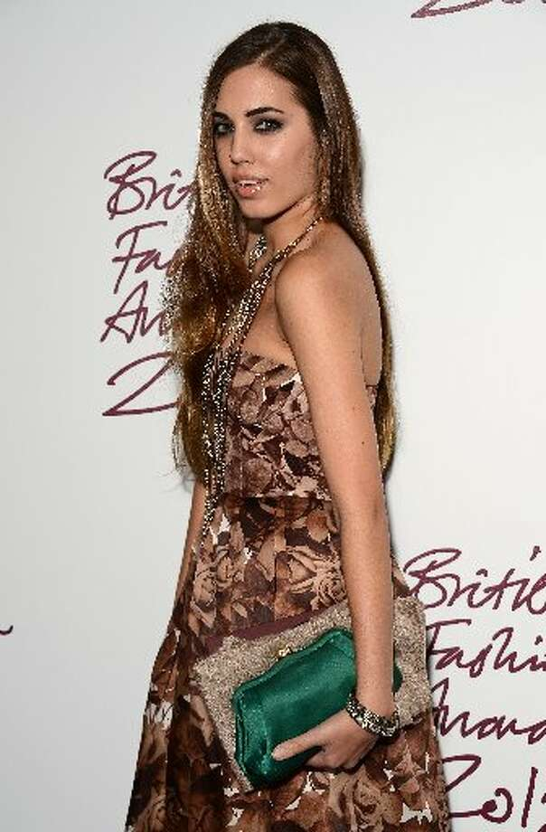 Amber Le Bon attends the British Fashion Awards 2012 at The Savoy Hotel on November 27, 2012 in London, England. (Photo by Ian Gavan/Getty Images) (Getty)