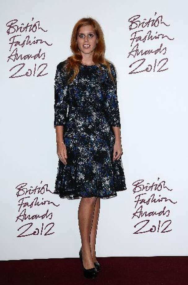 Princess Beatrice attends the British Fashion Awards 2012 at The Savoy Hotel on November 27, 2012 in London, England. (Photo by Ian Gavan/Getty Images) (Getty)