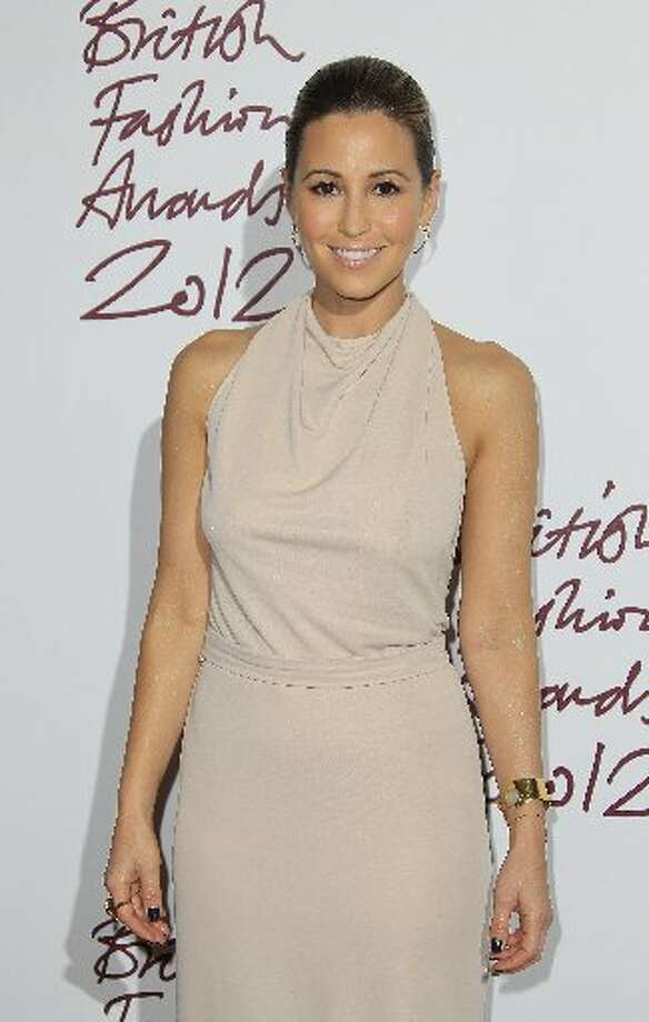 Rachel Stevens arrives for the British Fashion Awards at the Savoy Hotel in central London, Tuesday Nov. 27, 2012. (Photo by Joel Ryan/Invision/AP) (AP)