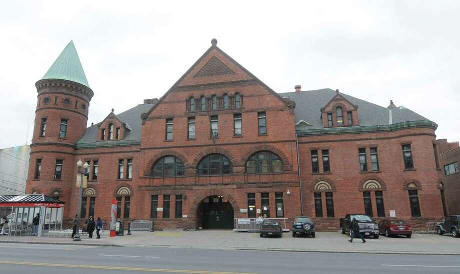 A view of the Armory on Wednesday, Nov. 28, 2012 in Albany, N.Y. (Paul Buckowski / Times Union) Photo: Paul Buckowski / 00020291A