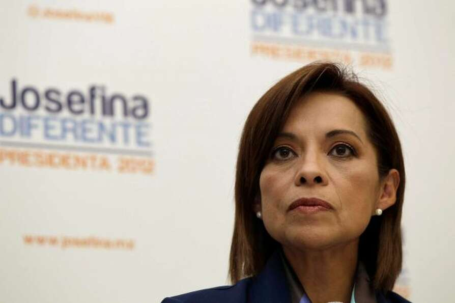 National Action Party (PAN) candidate Josefina Vazquez Mota belongs to the same party as Felipe Cald