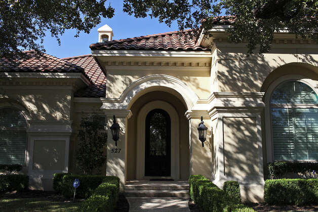 The exterior of Reema and Naveen Kella's home in San Antonio on Wednesday, Nov. 28, 2012. Photo: Lisa Krantz, San Antonio Express-News / © 2012 San Antonio Express-News