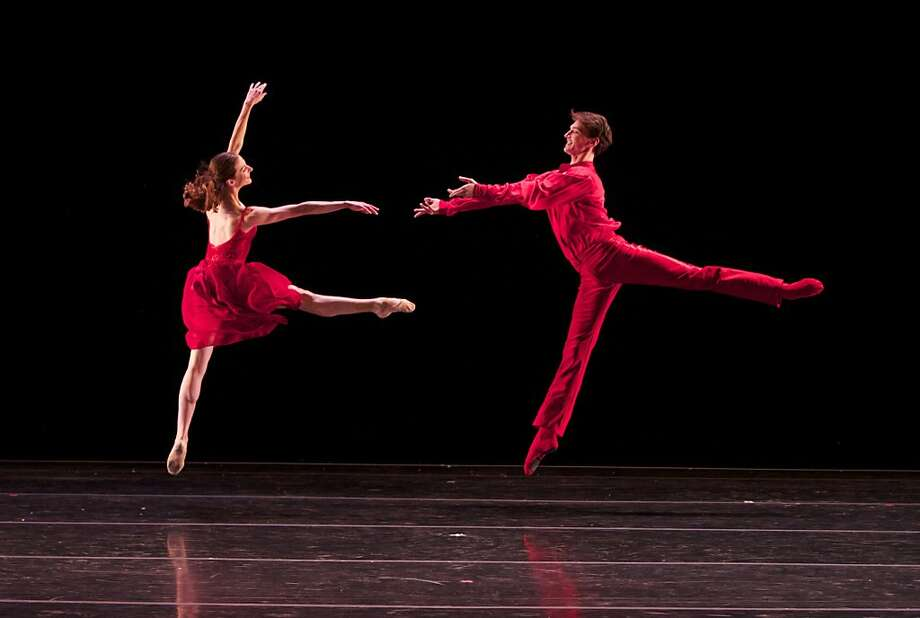 "A gracious and chic Jane Rehm and Jonathan Dummar perform a new work by Amy Seiwert, ""No Christmas for Me,"" to the Zee Avi tune of the same name in Smuin's ""Christmas Ballet."" Photo: Keith Sutter, Smuin Ballet"