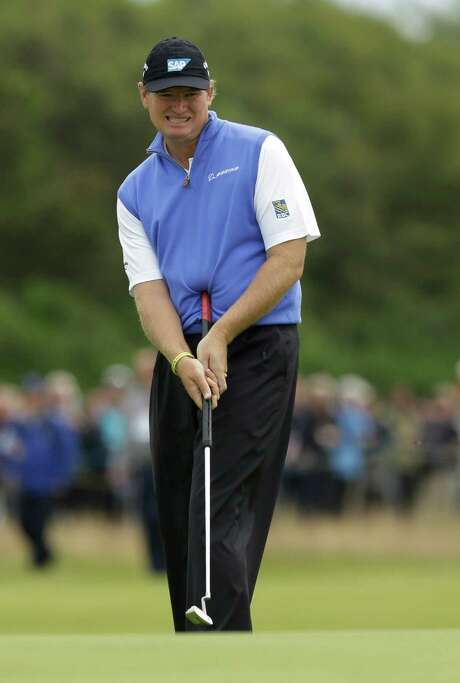 Ernie Els revitalized his career in 2012, with a British Open victory among his five top-10 finishes, but putting wasn't his strong suit. Photo: Jon Super, STR / AP