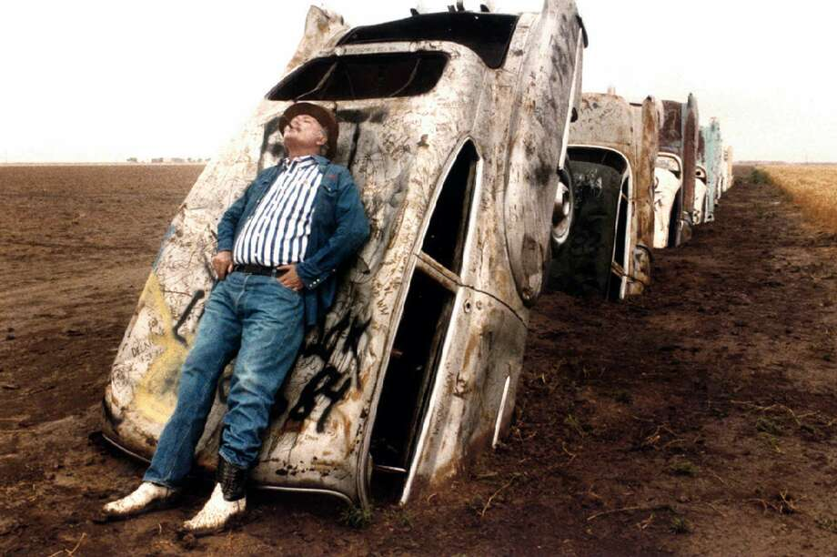 """Stanley Marsh 3, known for his """"Cadillac Ranch"""" art, has denied the criminal and civil counts. Photo: Evans Caglage, MBR / THE DALLAS MORNING NEWS"""