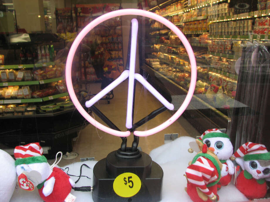 Walgreens, Nov. 26, 2012; peace at a price  (Will Hearst)