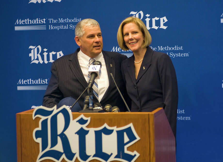 Rick Greenspan, Rice AD Photo: Staff / handout email