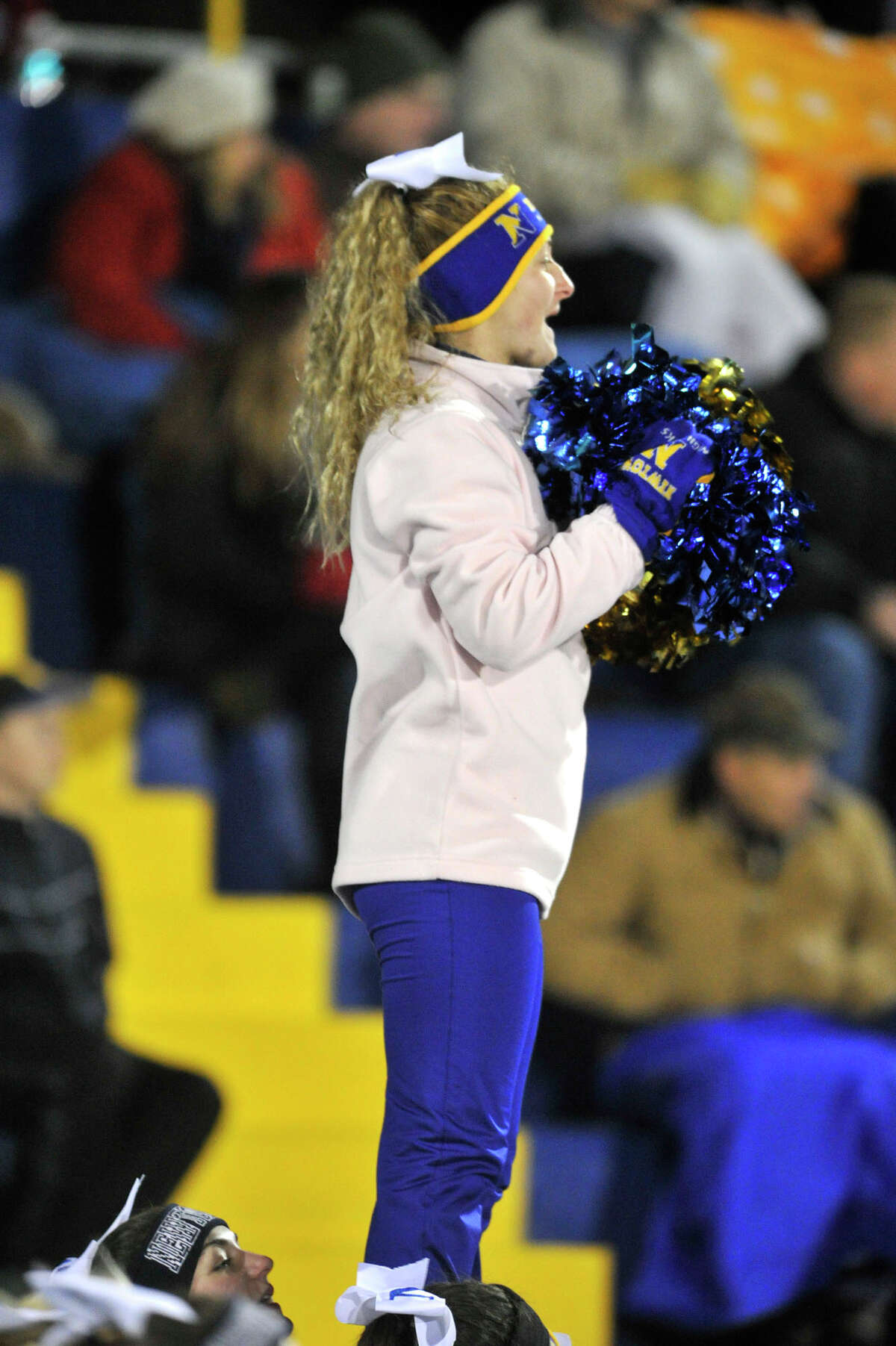 Scenes from the Norwich Free Academy at Newtown Class LL state quarterfinal game on Wednesday, Nov. 28, 2012.