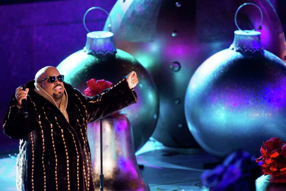 CeeLo Green performs at the 80th annual Rockefeller Center Christmas tree lighting ceremony on Wednesday, Nov. 28, 2012 in New York. (Photo by Charles Sykes/Invision/AP) Photo: Charles Sykes, Associated Press / Associated Press