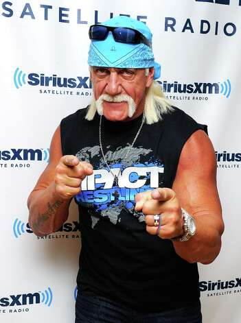 Hulk Hogan is among the more than two dozen celebrities and public officials targetted by an as-yet unidentified group of hackers. (Photo by Andrew H. Walker/Getty Images) Photo: Andrew H. Walker, Getty Images / 2011 Getty Images