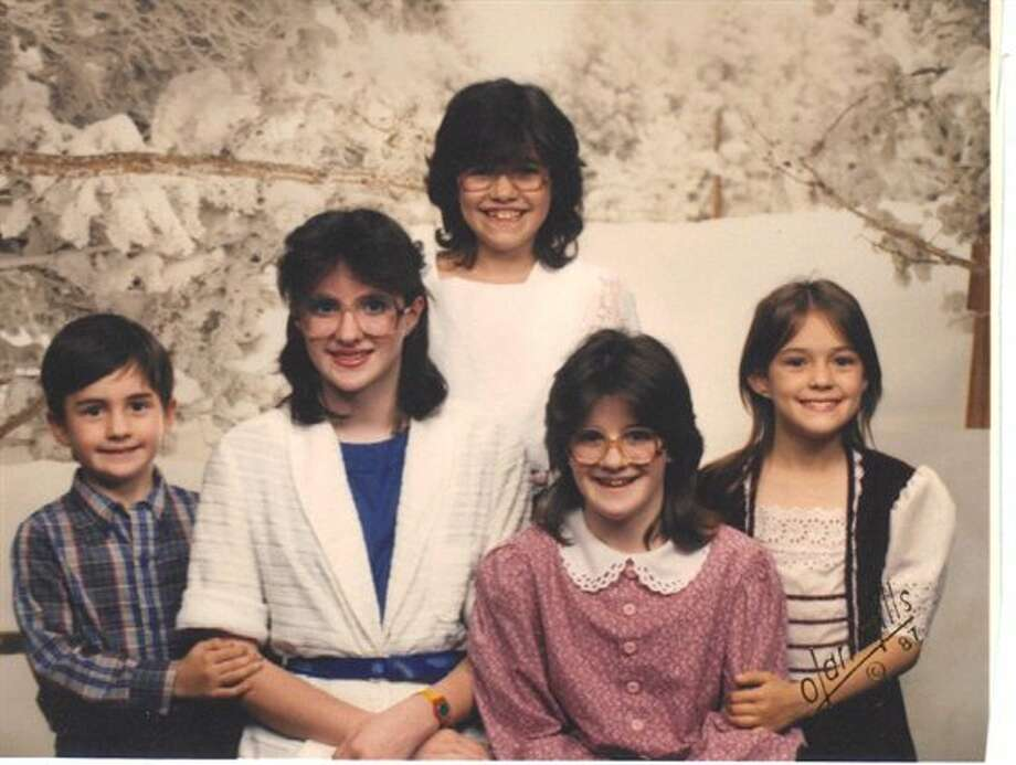 Then: My siblings in 1988 in Lawton, Ok. (gzwright)