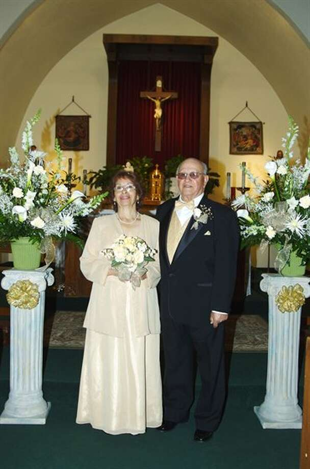 Now: John & Mary Lopez, January 20, 2007, Holy Family Church, Kingsburg, Calif. (t-lo)