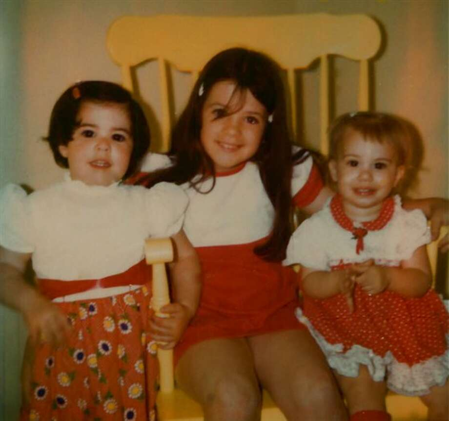 Then: Yellow Chair Take 1. My cousins and I at our Aunt & Uncle's home in Campbell, Calif., in 1974. (wks4food)