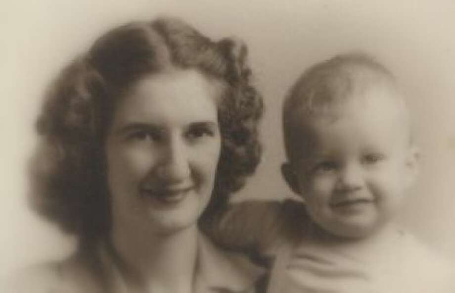 Edna Mae Breaux and her son Kenneth Breaux taken in 1945 in Memphis, Tennessee. Edna Mae moved from New Orleans to the Inn at Los Patios retirement community in 2004 with her husband who has since deceased. (Kenneth Breaux / MySanAntonio.com)