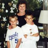 What started as fun taking an Xmas picture with Gramma Gail Sims and cousin grandsons Patrick Sims and Michael Carlisle (first picture, in Bulverde, 1999 when they were 8) soon became a yearly tradition. (Gail Sims / MySanAntonio.com)