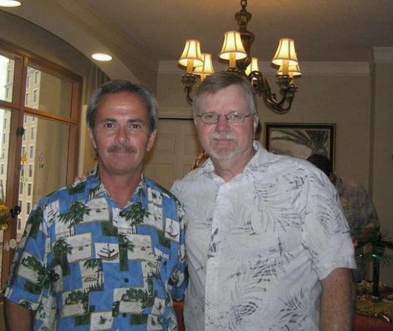 This photo of Dan Cretaro and Bryan Ball was taken their our 40th high school class reunion in Florida 2010. We had not seen each other since 1971. (Dan Cretaro / MySanAntonio.com)