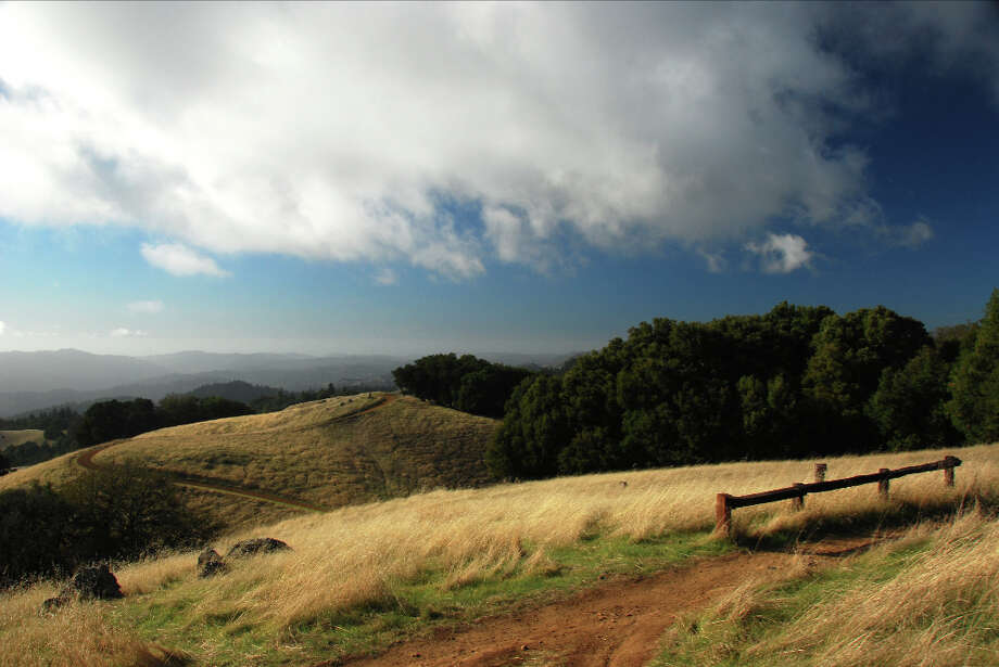 Perfect fall day at Long Ridge, the photo selected for cover of the new book Room To Breathe (Ian Sims)