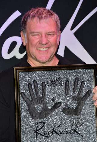 HOLLYWOOD, CA - NOVEMBER 20:  Musician Alex Lifeson of Rush Honored On Guitar Center's RockWalk at Guitar Center on November 20, 2012 in Hollywood, California. Photo: Frazer Harrison, Getty Images / 2012 Getty Images