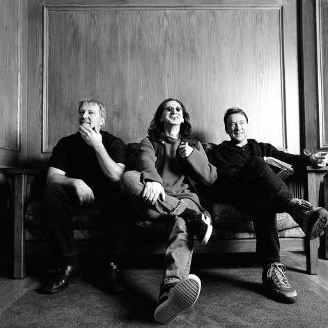 (L-R) Alex Lifeson, Geddy Lee and Neil Peart are Rush (band) Photo: COURTESY PHOTO