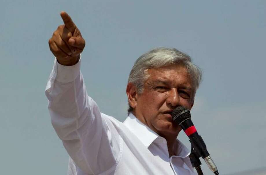 Andres Manuel Lopez Obrador is the Democratic Revolution Party (PRD) candidate for president. (AP)