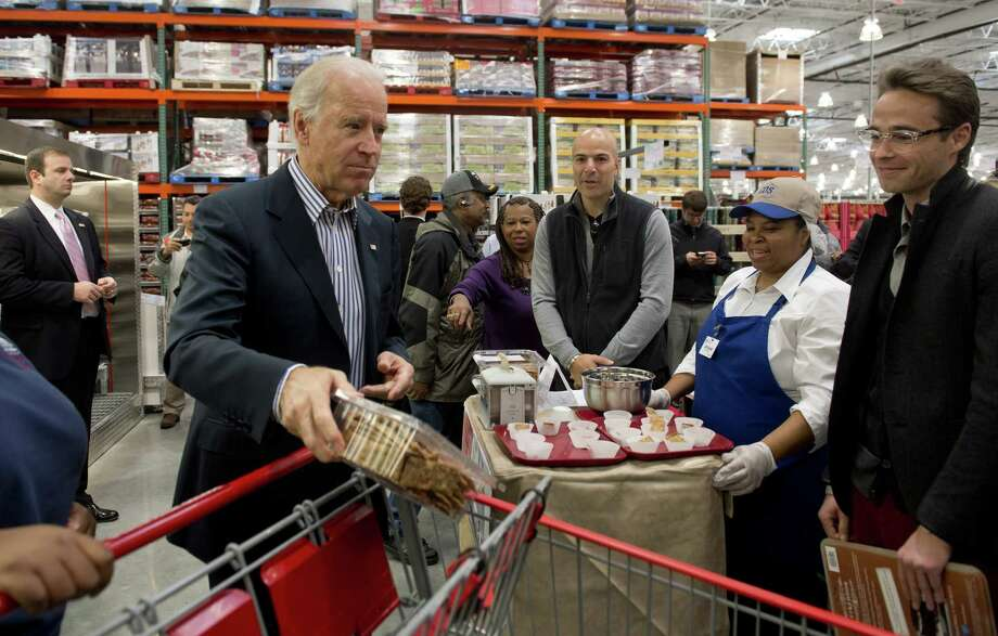 "What do you think the chances are that other  customers said, ""Hey, maybe we should buy some of that?"" Or perhaps it was, ""I ain't buying it if he is!""  (SAUL LOEB/AFP/Getty Images) Photo: Ap/getty"