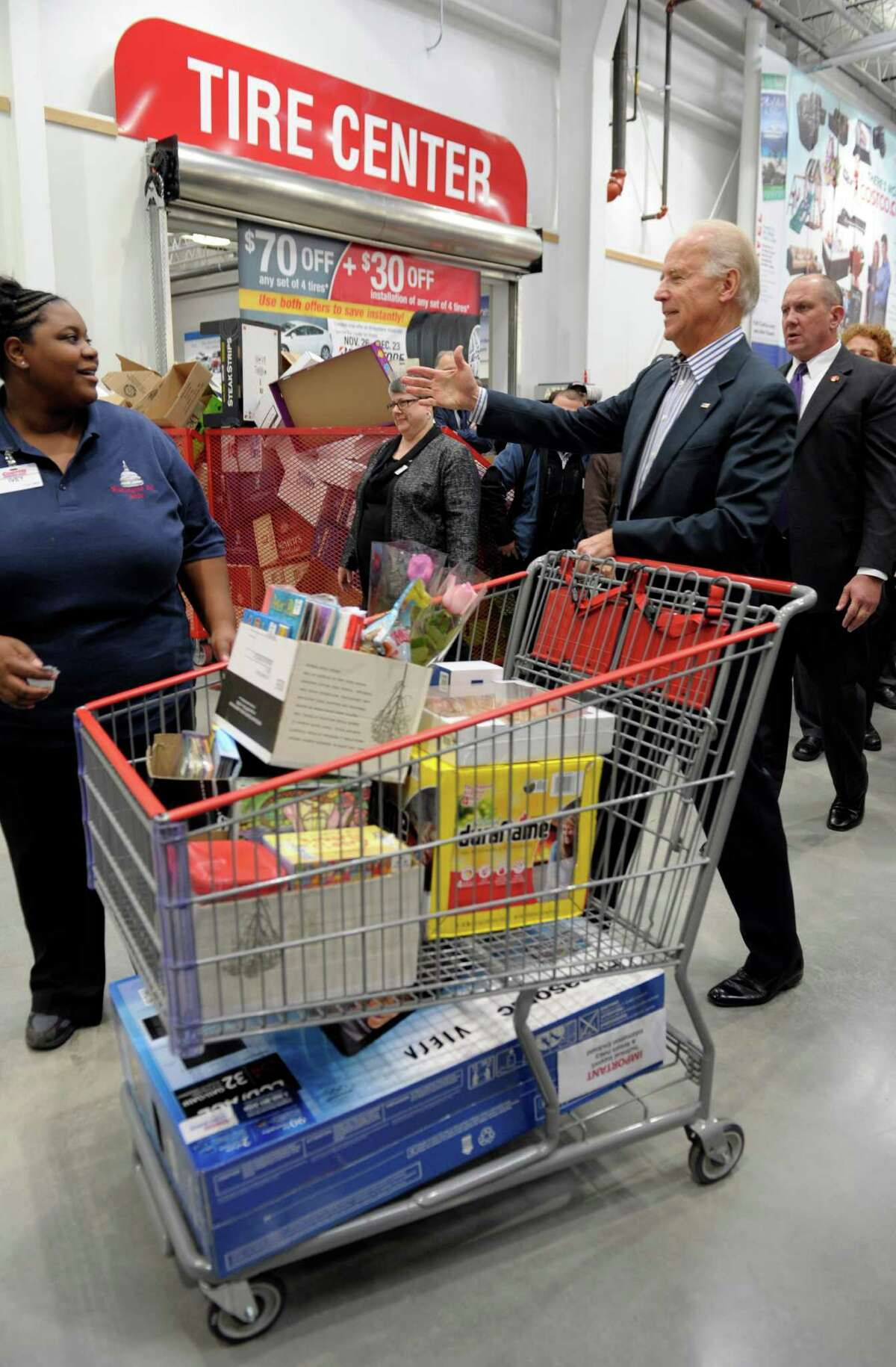 46. Costco , 3.8 stars (and you might get a hug from Vice President Joe Biden).