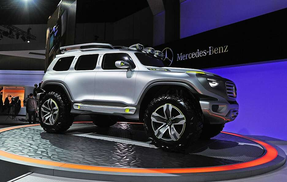 The Mercedes-Benz Ener-G-Force concept is introduced at the Los Angeles Auto show  in Los Angeles, C