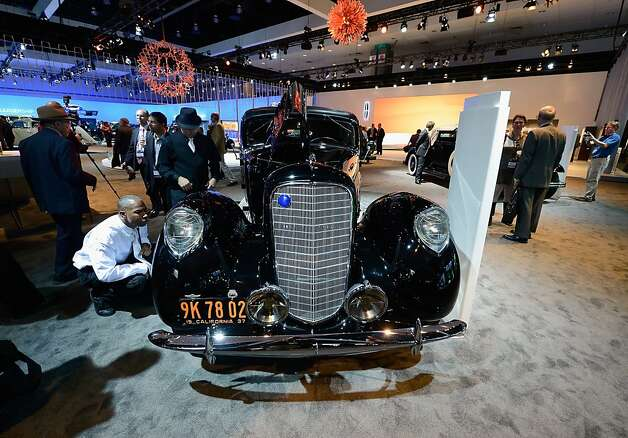 A one-of-a-kind 1937 Lincoln Derham Sport Sedan is shown on display as part of Lincoln's Heritage On Display during the Los Angeles Auto Show media day on November 28, 2012 in Los Angeles, California. The LA Auto Show opens to the public November 30 and runs through December 9. Photo: Kevork Djansezian, Getty Images