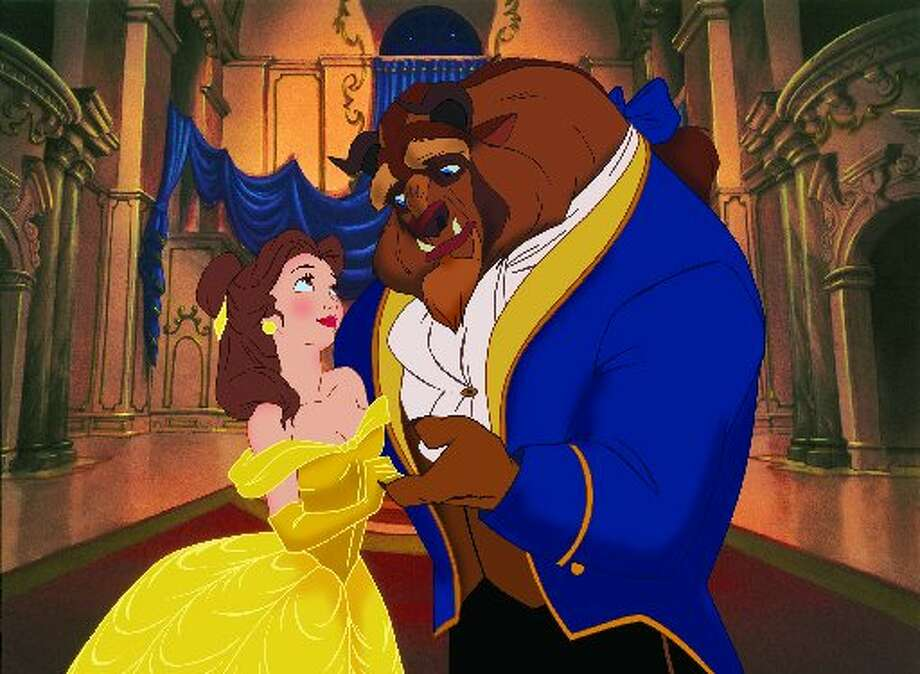 Belle and the Beast from Beauty & the Beast 3D. (Disney)