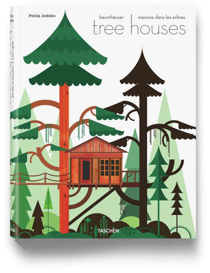 "The new coffee table book ""Tree Houses: Fairy Tale Castles in the Air"" (Taschen) by Philip Jodidio features 50 tree houses from all over the world, It retails for $69.99 and is available at Kuhl-Linscomb, 2424 West Alabama Street. Photo: Style Gift Guide"