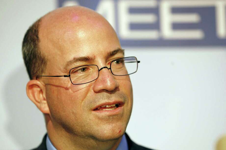 FILE - In this Wednesday, Nov. 14, 2007, file photo, Jeff Zucker, President and Chief Executive Officer of NBC Universal, is seen at the 60th anniversary celebration of NBC's Meet the Press at the Newseum in Washington. CNN on Thursday named former NBC Universal chief Jeff Zucker as its new top executive, searching for a way to turn around the original cable news network as it has lagged behind rivals Fox News Channel and MSNBC.Zucker will start in January, based in New York and reporting to Phil Kent, who runs all of the Turner networks for parent company Time Warner. (AP Photo/Charles Dharapak, File) Photo: Charles Dharapak