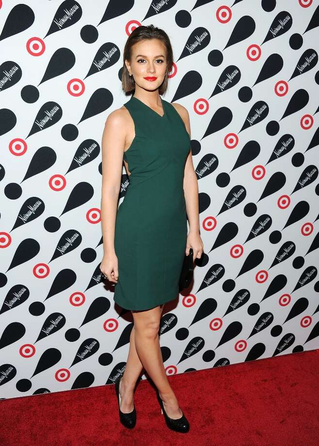 Actress Leighton Meester attends the Target and Neiman Marcus holiday collection launch on Wednesday Nov. 28, 2012 in New York. (Photo by Evan Agostini/Invision/AP) Photo: Evan Agostini, Associated Press / Invision