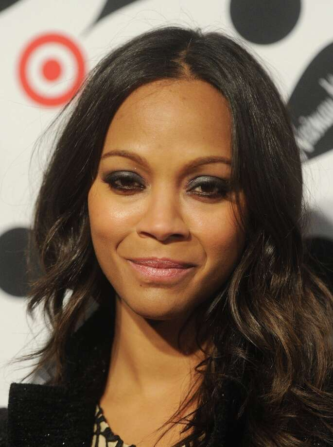 Actress Zoe Saldana attends the Target + Neiman Marcus Holiday Collection launch event on November 28, 2012 in New York City.  (Photo by Jamie McCarthy/Getty Images for Target) Photo: Jamie McCarthy, Getty Images For Target / 2012 Getty Images