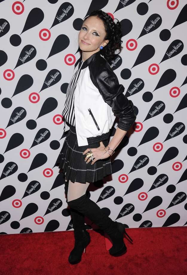 Fashion designer Stacey Bendet attends the Target + Neiman Marcus Holiday Collection launch event on November 28, 2012 in New York City.  (Photo by Jamie McCarthy/Getty Images for Target) Photo: Jamie McCarthy, Getty Images For Target / 2012 Getty Images