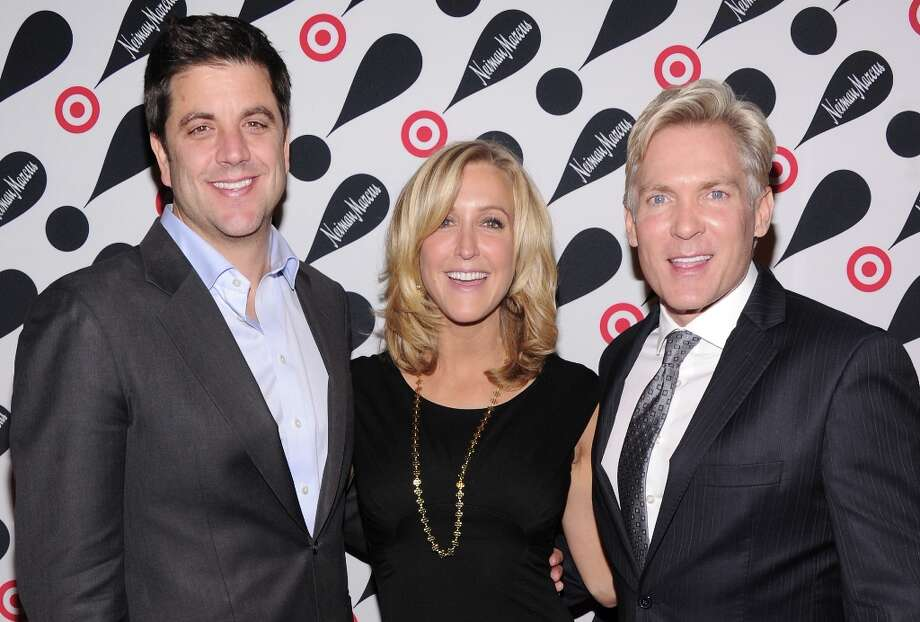 (L-R) ABC News personalities Josh Elliott, Lara Spencer, and Sam Champion attend the Target + Neiman Marcus Holiday Collection launch event on November 28, 2012 in New York City.  (Photo by Jamie McCarthy/Getty Images for Target) Photo: Jamie McCarthy, Getty Images For Target / 2012 Getty Images