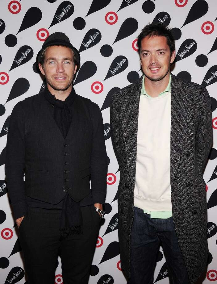Rag & Bone co-designers David Neville (L) and Marcus Wainwright attends the Target + Neiman Marcus Holiday Collection launch event on November 28, 2012 in New York City.  (Photo by Jamie McCarthy/Getty Images for Target) Photo: Jamie McCarthy, Getty Images For Target / 2012 Getty Images