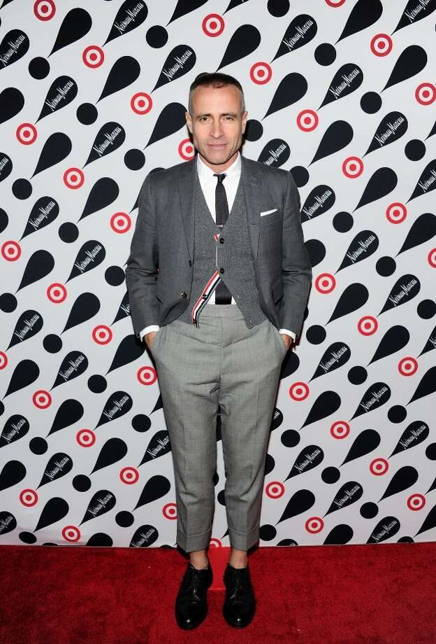 Designer Thom Browne attends the Target and Neiman Marcus holiday collection launch on Wednesday Nov. 28, 2012 in New York. (Photo by Evan Agostini/Invision/AP) Photo: Evan Agostini, Associated Press / Invision