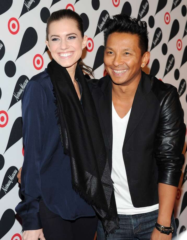 Actress Allison Williams and designer Prabal Gurung attend the Target and Neiman Marcus holiday collection launch on Wednesday Nov. 28, 2012 in New York. (Photo by Evan Agostini/Invision/AP) Photo: Evan Agostini, Associated Press / Invision