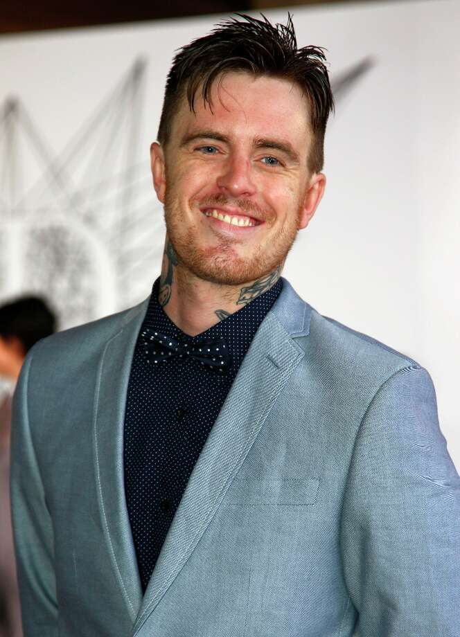 Matt Colwell, better known by his stage name 360, arrives for the Australian music industry Aria Awards in Sydney, Thursday, Nov. 29, 2012. (AP Photo/Rick Rycroft) Photo: Rick Rycroft, Associated Press / AP
