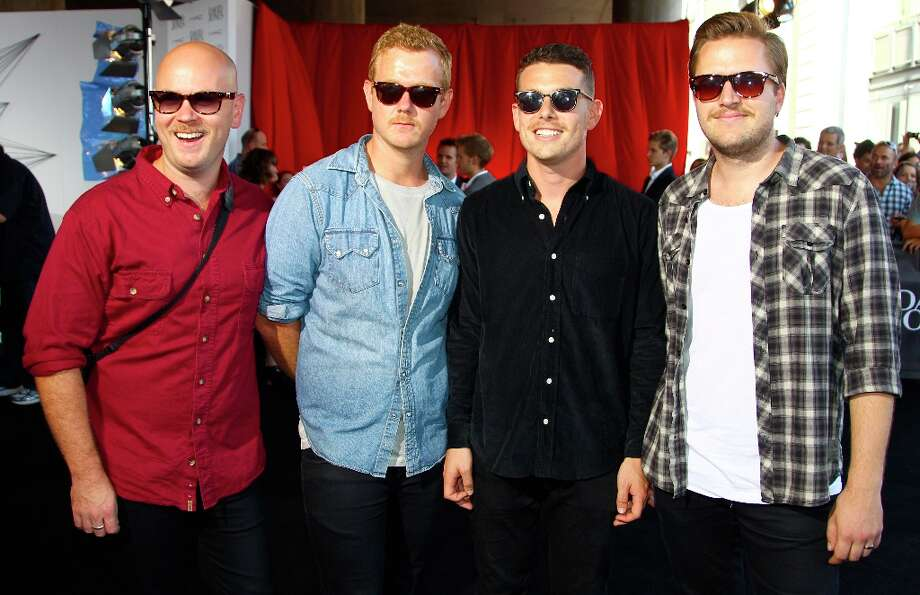 The group Boy & Bear arrive for the Australian music industry Aria Awards in Sydney, Thursday, Nov. 29, 2012. (AP Photo/Rick Rycroft) Photo: Rick Rycroft, Associated Press / AP