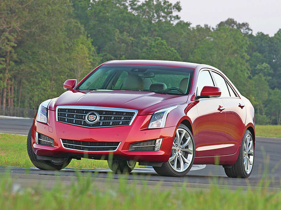 2013 Cadillac ATS (photo courtesy General Motors Corporation) Photo: Richard Prince / License Agreement - Please read the following important information pertaining to this image. This GM image is protected by copy
