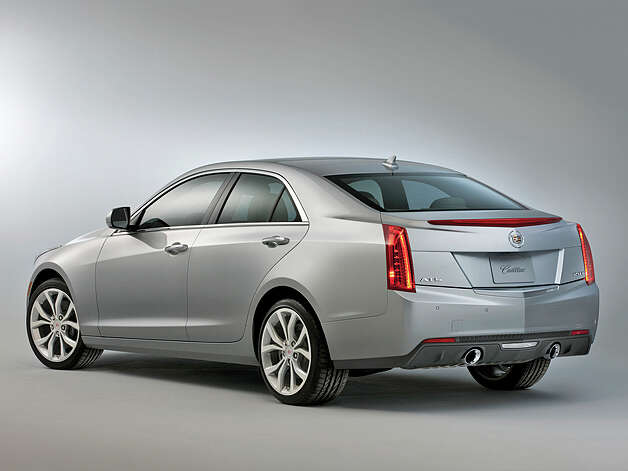 2013 Cadillac ATS (photo courtesy General Motors Corporation) Photo: Alan Vanderkaay / License Agreement - Please read the following important information pertaining to this image. This GM image is protected by copy