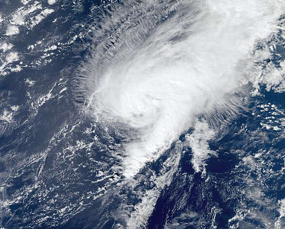 TROPICAL STORM TONY: Who remembers this? This central Atlantic storm made little noise when it was noted on Oct. 19 as a tropical wave. It became a named storm on Oct. 24 and petered out Oct. 25 without hitting land.  Photo: .