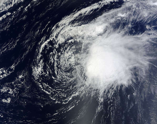 TROPICAL STORM OSCAR: This storm developed in late September and petered out Oct. 5 with no damage or loss of life.  Photo: .