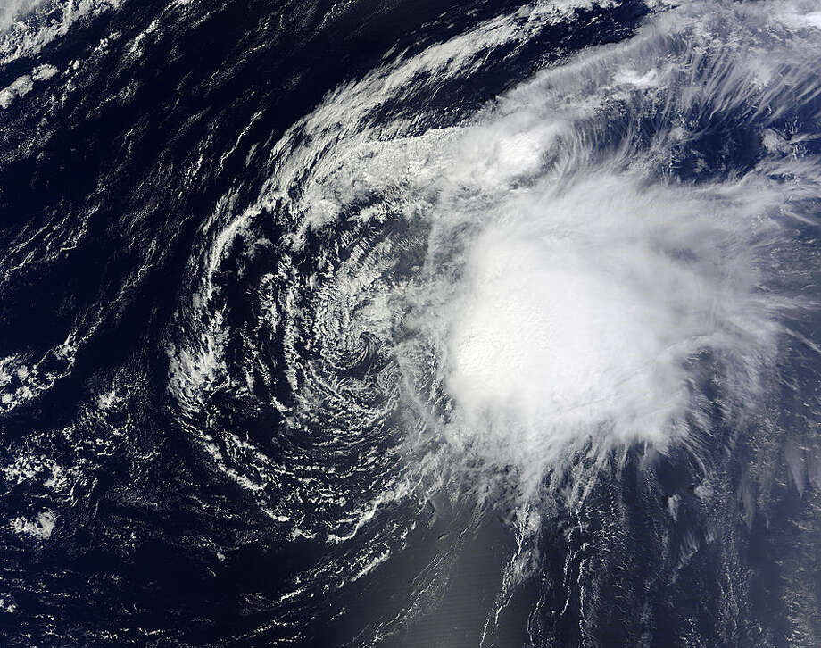 TROPICAL STORM OSCAR:This storm developed in late September and petered out Oct. 5 with no damage or loss of life.  Photo: .